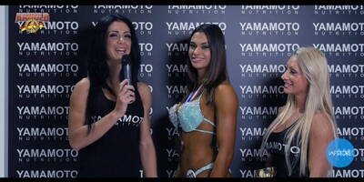Interview to Matilde Biagini IFBB Bikini at Arnold Classic Europe 2016