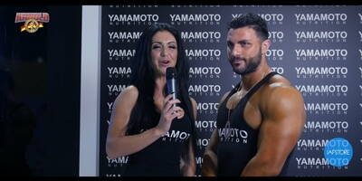 Interview with Francesco Mountuori IFBB Men's Physique